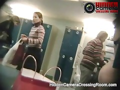 Hidden Camera Dressing Room